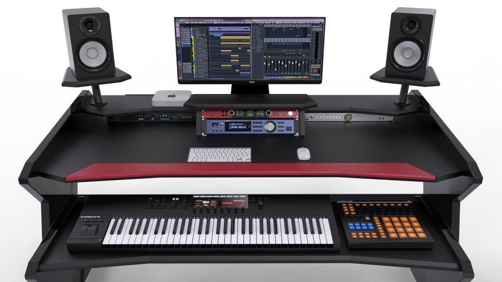 Sensational Top 5 Best Music Production Desks Under 2000 2019 Guide Home Interior And Landscaping Palasignezvosmurscom