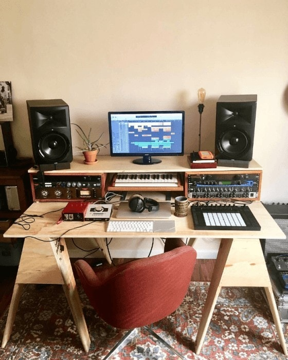Small Apartment Music Studio