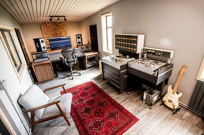 Music Studio Interior Design 7 Setups