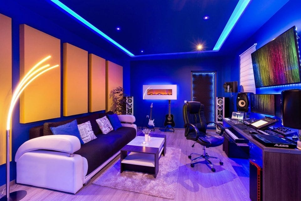 7 Insanely Cool Led Light Setups For Music Studios We Love